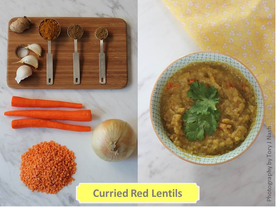 Curried Red Lentils Photos